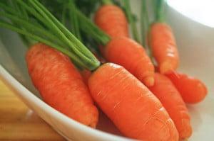 Morcovii sunt bogati in vitamina A