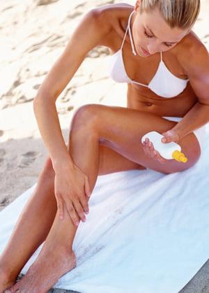 Protejarea pielii de radiatiile ultraviolete