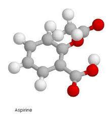 Molecula-de-aspirina