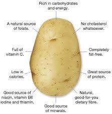 Cartoful, valoare nutritiva