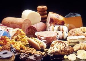 Mancarurile grase nu ajuta la slabit