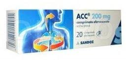 Comprimate efervescente ACC 200
