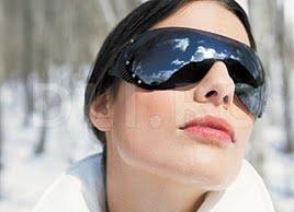 Ochelari de soare iarna, Sanatatea ochilor in timpul iernii