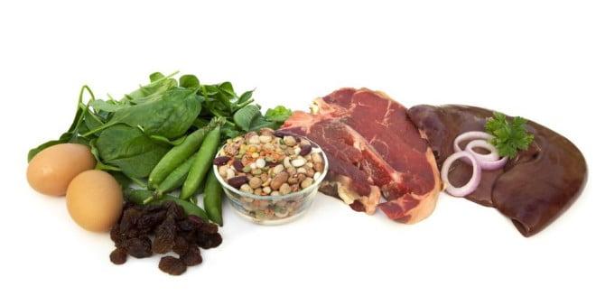 Alimente care contin fier, Foto: blog.kangzhi.com