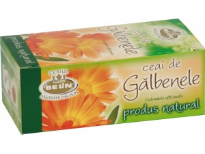 Ceai de Galbenele: Beneficii, Indicatii, Cum se Utilizeaza?