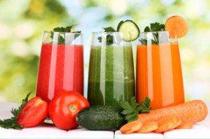 Artrita - Sucuri de legume si fructe