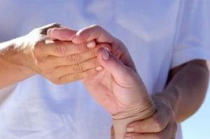 Compresie asupra nervilor la mana