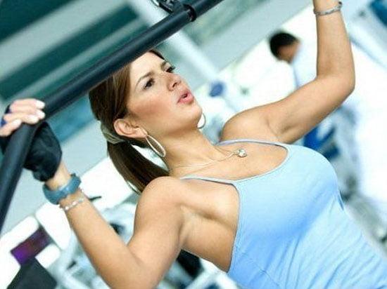 Culturismul pentru femei, Exercitii pentru brate, spate, piept, Foto: womanglobe.com