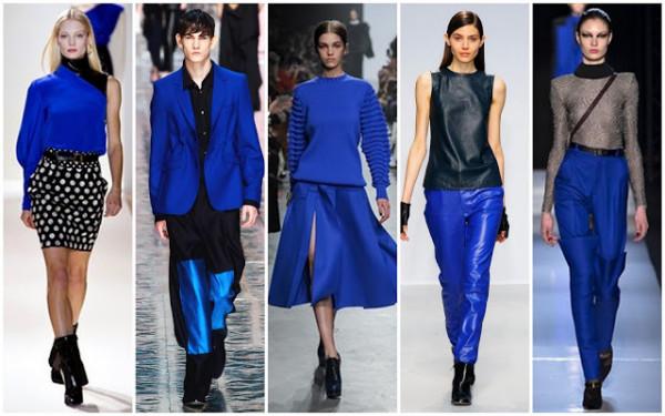 Articole Emmanuel Ungaro, Acne, Maison Rabih Kayouz, Allude and Roland Mouret in nuante de albastru, Foto: beautifullyfierce.blogspot.ro