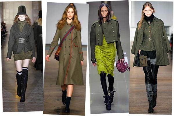 Articole de vestimentatie in nunate de verde-inchis, Foto: jamiep009.wordpress.com