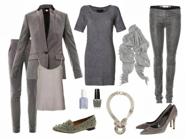 Articole vestimentare si accesorii gri', Foto: fashioncaramel.com