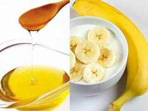 Masca cu banane si miere de albine, Foto: erganicliving.com