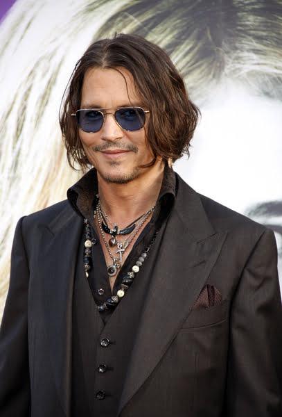 Tunsoarea bob la Johnny Depp, Foto: hairstyletwist.com