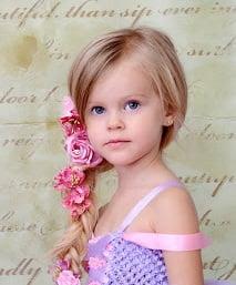 Coafura pentru fetita mica, Foto: littlegirlshairdos.blogspot.com