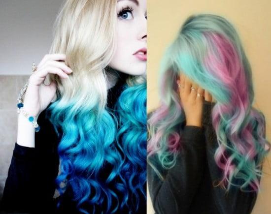 Combinatii interesante de nuante de culori de par in anul 2013, Foto: fashiontrendspk.com