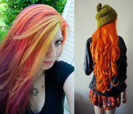 Combinatii interesante de nuante de culori de par, Foto: fashiontrendspk.com
