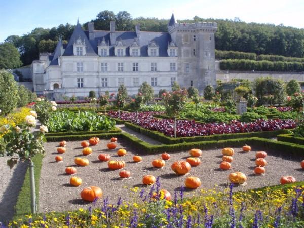 Gradinile de la Castelul Villandry din Franta, Foto: elizabethnew.com