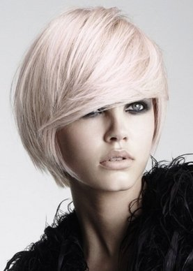 Tunsoarea moderna pentru par blond in 2014, Foto: hairstyles2014.com