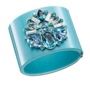 Bratara din plastic cu cristale Swarovski, marca Dior, Foto: fashionstyle.us