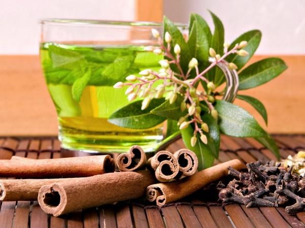 Ceai verde si scortisoara