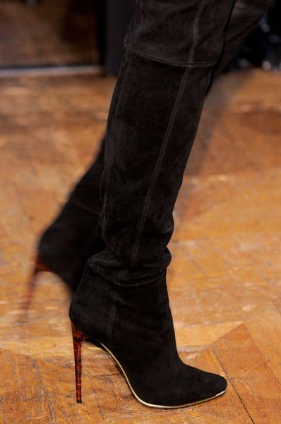 Cizme din piele intoarsa la moda in 2013-2014, Foto: thebestfashionblog.com