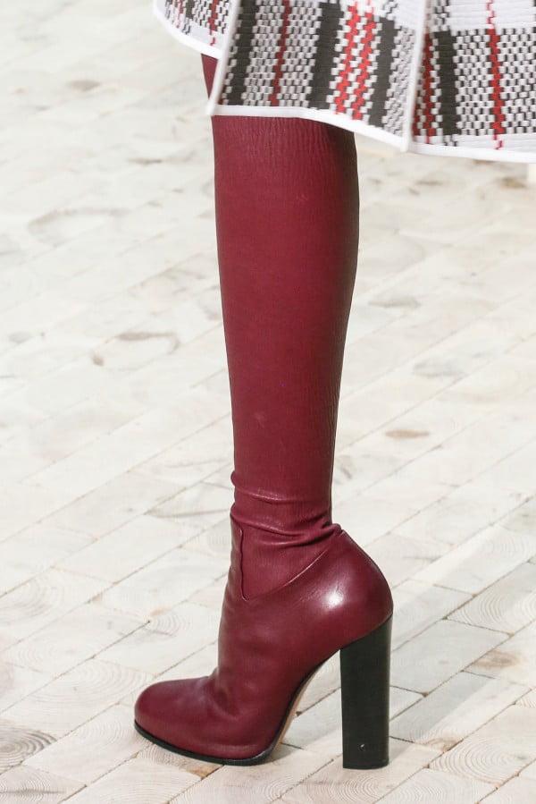 Cizme lungi din piele marca Céline, Foto: thebestfashionblog.com