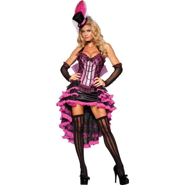 Costum de dansatoare c-can, Foto: buycostumes.com