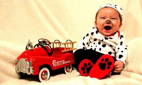 Costum de Halloween pentru bebelus, Foto: living.msn.com