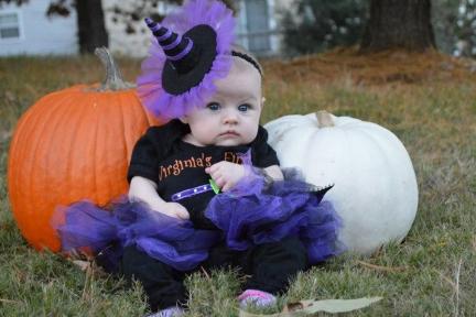 Costum de fetita pentru Halloween, Foto: living.msn.com