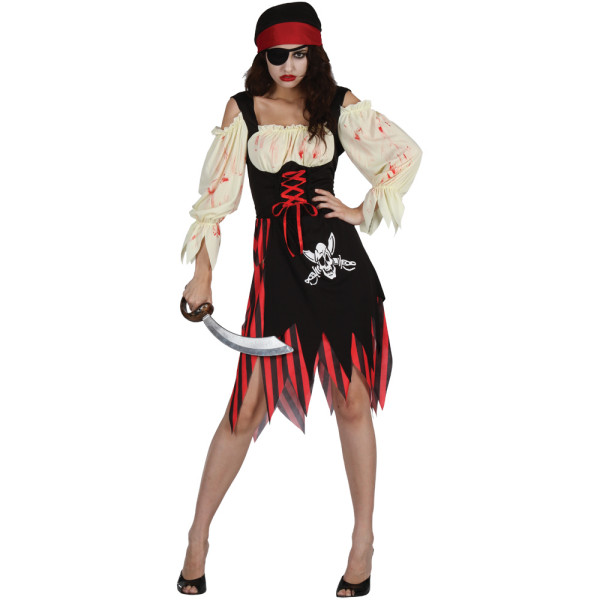Costum de pirat zombi, Foto: ebay.de