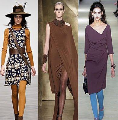 Dresuri marca Issa, Donna Karan si Vivienne Westwood Red Label, Foto: fallwinterfashiontrends.com