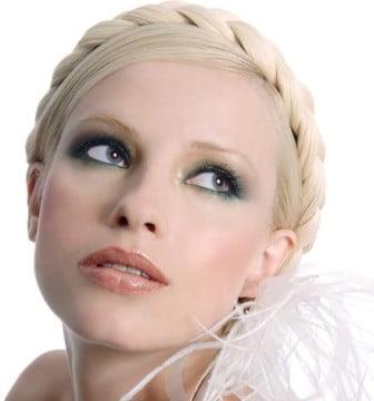 Machiaj pentru mireasa cu par blond, Foto: zankyou.fr