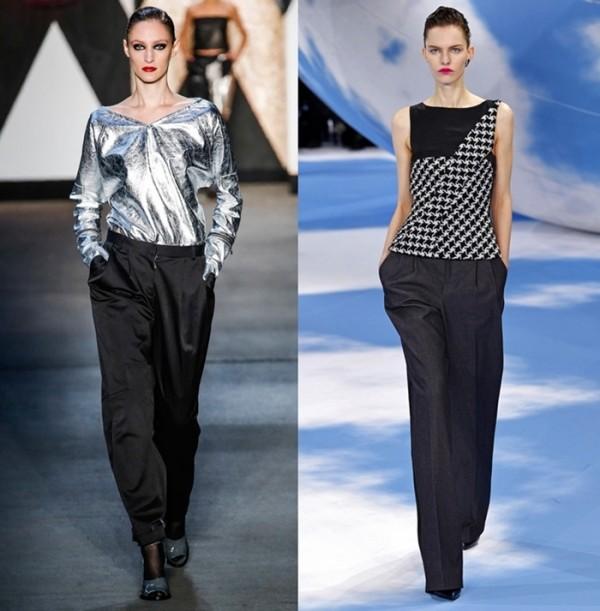 Pantaloni Jen Kao si Christian Dior, Foto: gorodmod.com