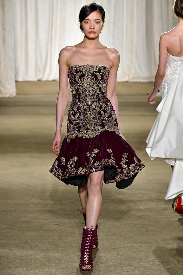 Rochie creatie Marchesa, Foto: oveisspeed.blogspot.com