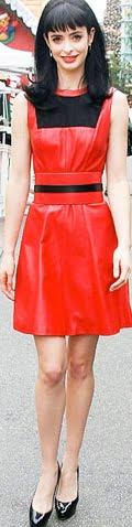 Rochie din piele la moda in anul 2013, Foto: leatherfads.com