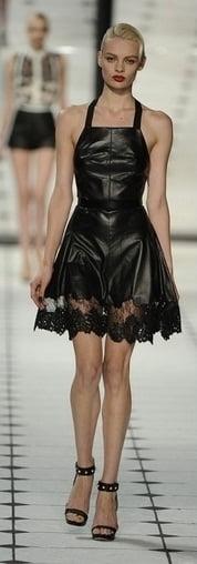Rochie din piele marca Jason Wu, Foto: gorodmod.com