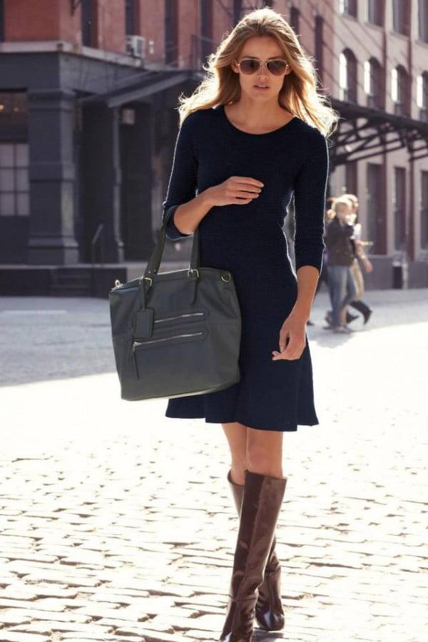 Rochie eleganta la moda in toamna anului 2013-2014, Foto: thebestfashionblog.com