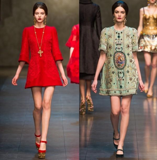 Rochii Dolce&Gabbana, Foto: gorodmod.com