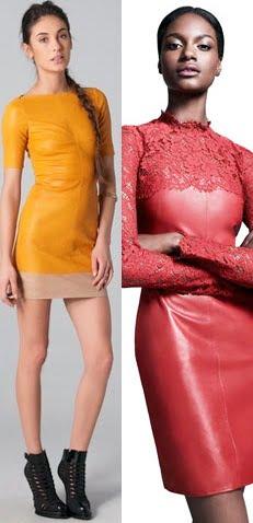 Rochii din piele pentru femei, Foto: leatherfads.com