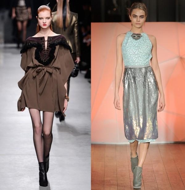 Rochii elegante creatii Alexis Mabille, Matthew Williamson, Foto: gorodmod.com