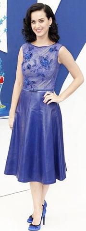 Tinuta eleganta in albastru, Foto: leatherfads.com