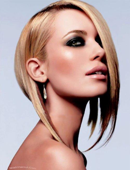 Tunsoare asimetrica chic la moda in 2013, Foto: dynamikhgynaika.gr