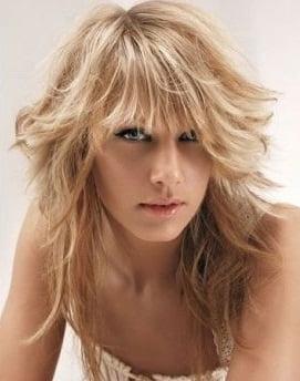 Tunsoare pentru par lung si blond, Foto: m.vietgiaitri.com