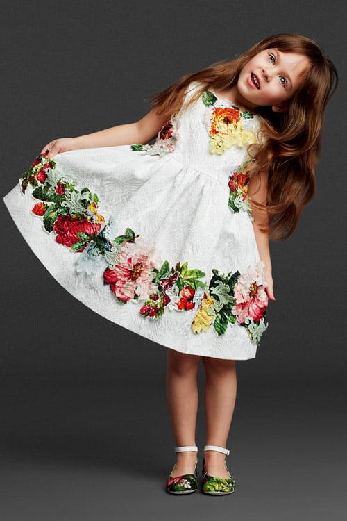 Rochita Dolce & Gabbana pentru fetite, Foto: ndh.vn