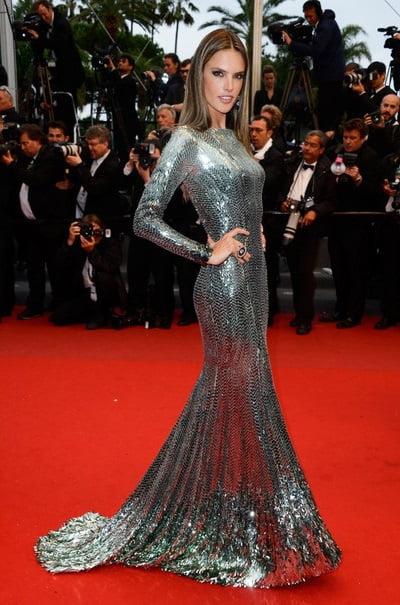 Alessandra Ambrosio in rochie Roberto Cavalli, Foto: 2.bp.blogspot.com