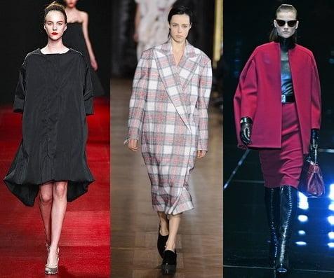 Articole de imbracaminte exterioara pentru femei, marca Nina Ricci, Stella McCartney, Gucci, Foto: fallwinterfashiontrends.com