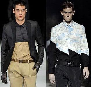 Camasi la moda in 2013-2014, marca Emporio Armani, Kenzo, Foto: fallwinterfashiontrends.com