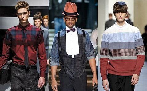 Camasi la moda in 2013-2014, marca Fendi, Dsquared2, Kris Van Assche, Foto: fallwinterfashiontrends.com