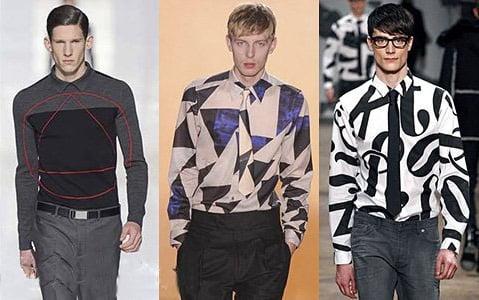 Camasi si tricouri moderne, marca Dior Homme, Paul Smith, Viktor & Rolf, Foto: fallwinterfashiontrends.com
