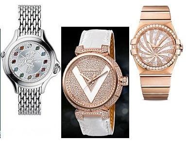 Ceasuri la moda in anul 2013, marca Fendi, Louis Vuitton, Omega, Foto: springsummerfashiontrends.blogspot.ro